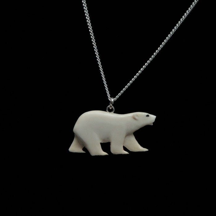 Collier ours polaire