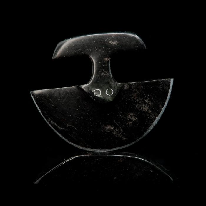 Sculpture de pierre couteau Ulu