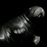 Sculpture phoque dodu