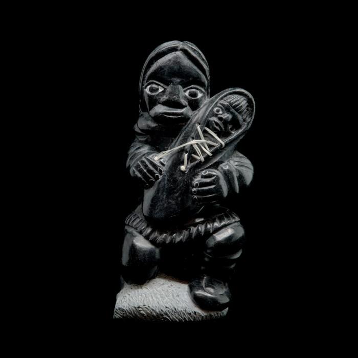 Sculpture maman et bébé