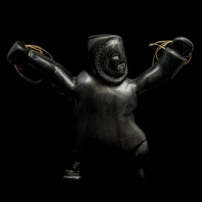sculpture chasseur triomphant